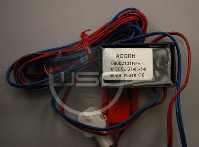 ACORN 2562-373-001: 9-VDC SENSOR WITH PLUG CLIPS (ST-08-3-0) (08002101)