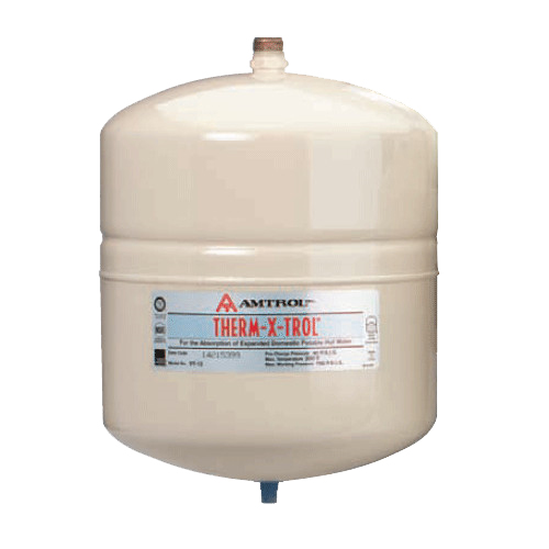 "Amtrol T-12: 141-363, 4.4 Gallon Tank Volume, Non-Asme, 3/4"" Npt, Therm-X-Span, Inline Potable Water Expansion Tank (Maximum Temp. 200 Degrees F, Maximum Working Pressure 150-Psi)"