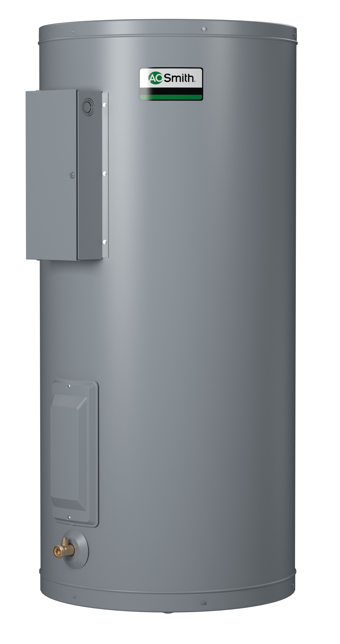 AO SMITH DEN-120D: 119 GALLONS, 1.5KW, 120 VOLTAGE, 1 PHASE, (2-1500 WATT ELEMENTS, NON-SIMULTANEOUS WIRING), DURA-POWER, NON-ASME COMMERCIAL ELECTRIC WATER HEATER