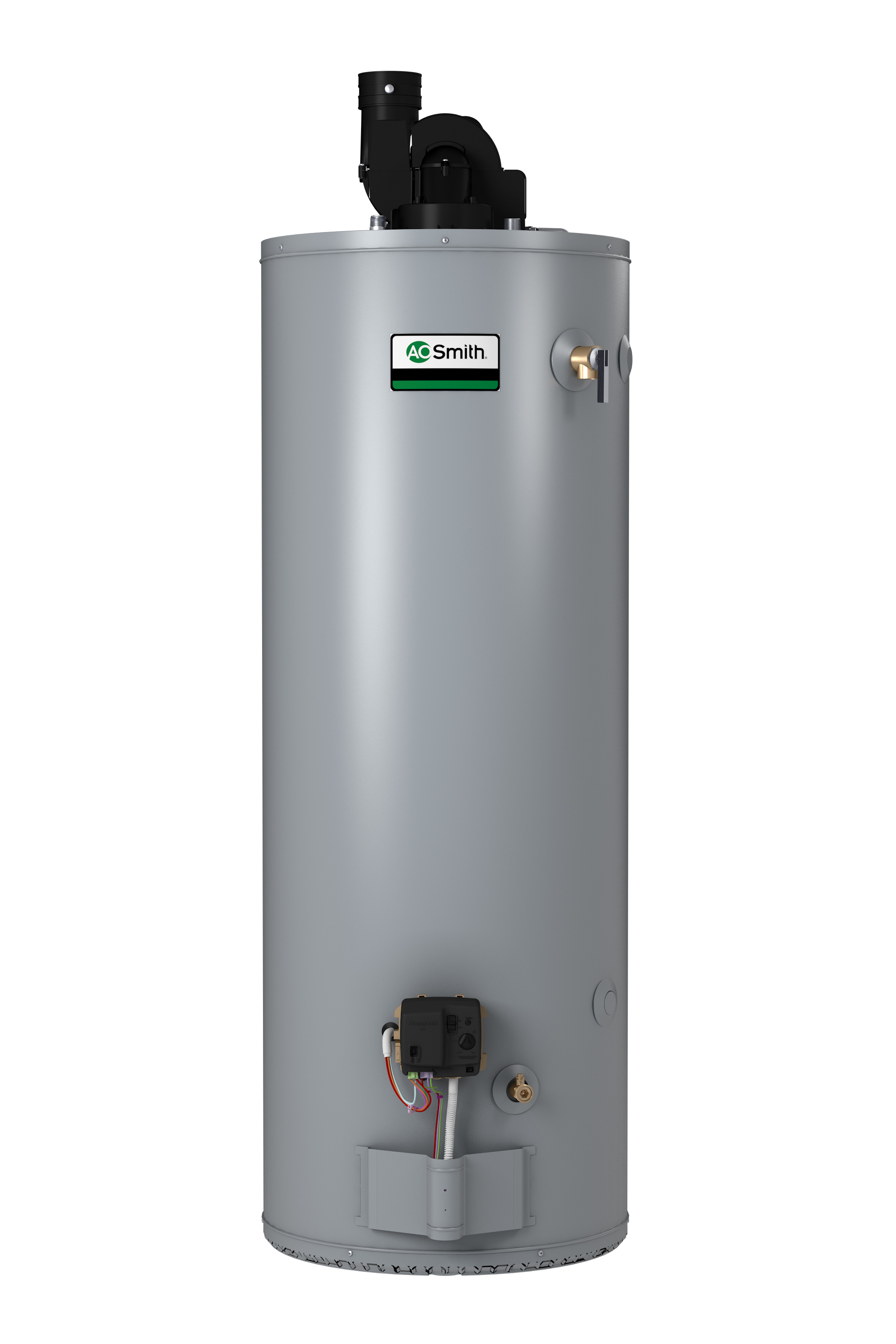 "AO SMITH BPD-80: 75-GALLON, 76,000 BTU, 3"" OR 4"" VENT, POWER DIRECT VENT, NATURAL GAS WATER HEATER, CONSERVATIONIST"