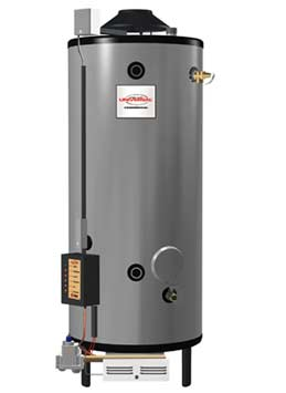 "RHEEM G100-200: 100-GALLON, 199,000 BTU, NATURAL GAS WATER HEATER, 6"" VENT"